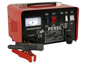 Carregador Baterias Perel AC15